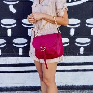 💕New! Red Chain fashion crossbody bag purse💕